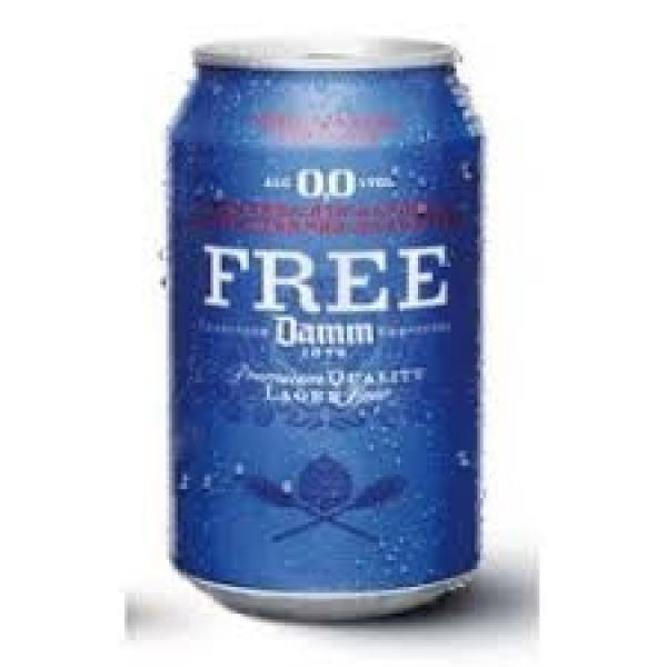 DIS-FREE DAMM 1/3 LATA