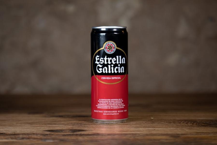 Cerveza Estrella Galicia (330 ml)