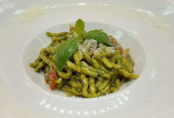 Trofie Frescas al Pesto Genoves