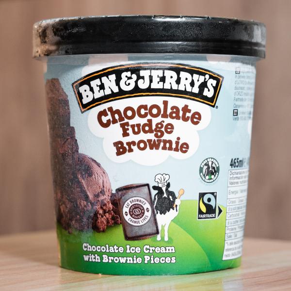 Helado Ben & Jerry's Chocolate Fudge Brownie (465ml)