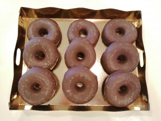 Donut chocolate - 9 unidades