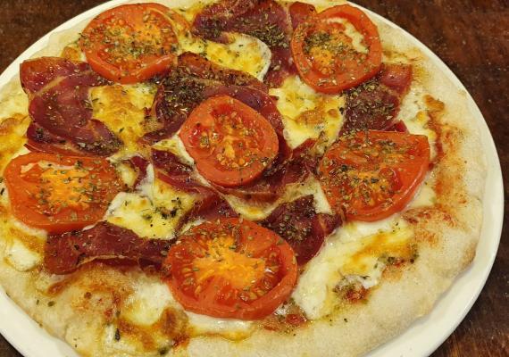 Pizza Jamón Serrano/Pernil Serra