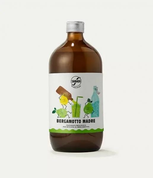 Preparato biologico per bevanda al bergamotto – BERGAMOTTO MADRE 1L