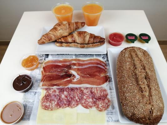 Gran Desayuno EMBUTIDO PARA 2