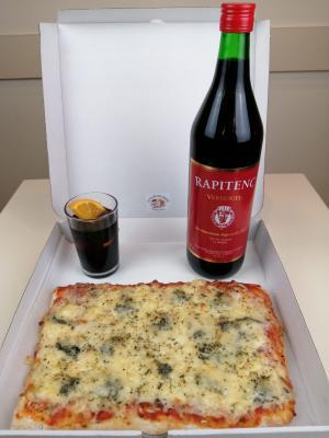 Pizza Entera + Rapitenc
