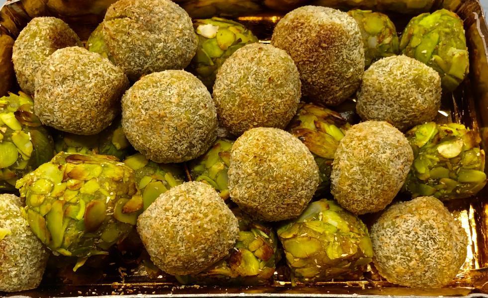 Tipico pastelito de pistachos 4 unidad
