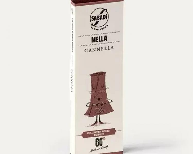 Cioccolato di Modica alla cannella IGP biologico – NELLA –