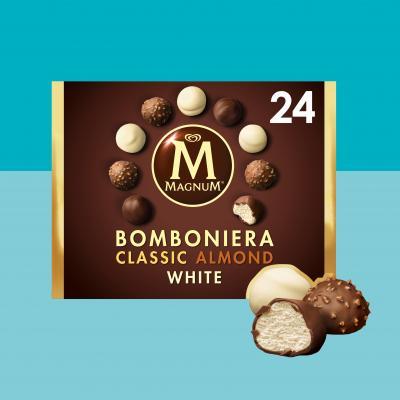 Caprichos helados Magnum 3 sabores (24 uds)