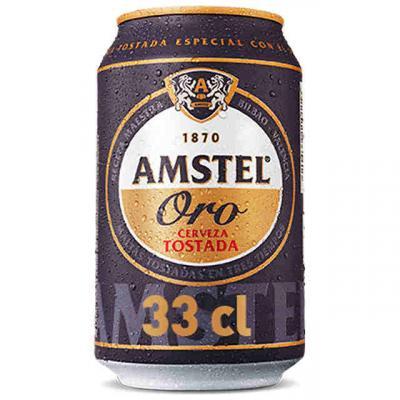 Amstel Oro Lata