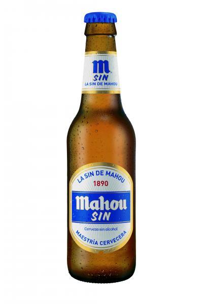CERVEZA SIN ALCOHOL 33cl