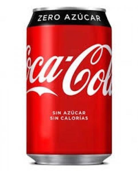 COC-COCA COLA ZERO LATA 33CL