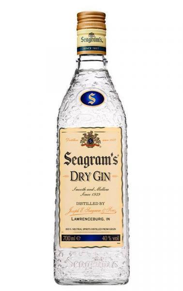 Botella GIN Seagrams 700ml
