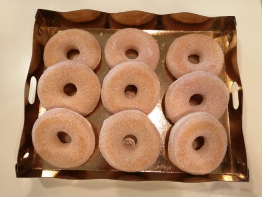 Donuts azúcar - 9 unidades
