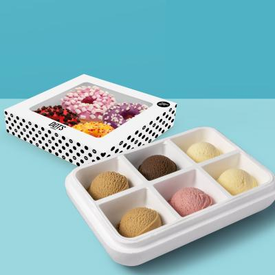 Pack especial: Surtido 6 sabores de helado Carte D'Or a elegir + 4 Donuts de sabores distintos (5/6 pers.)