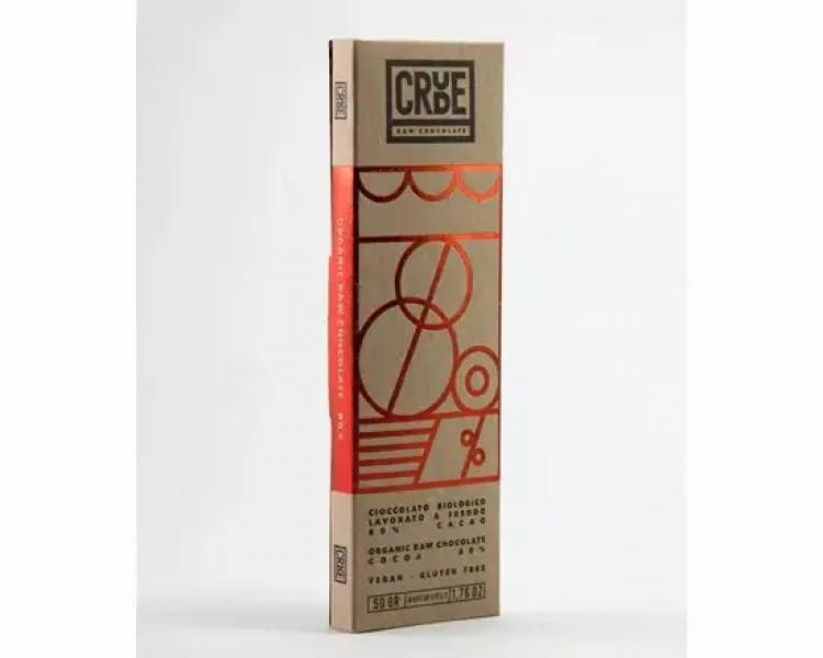 Cioccolato Crudo fondente biologico 80% – CRUDE 80