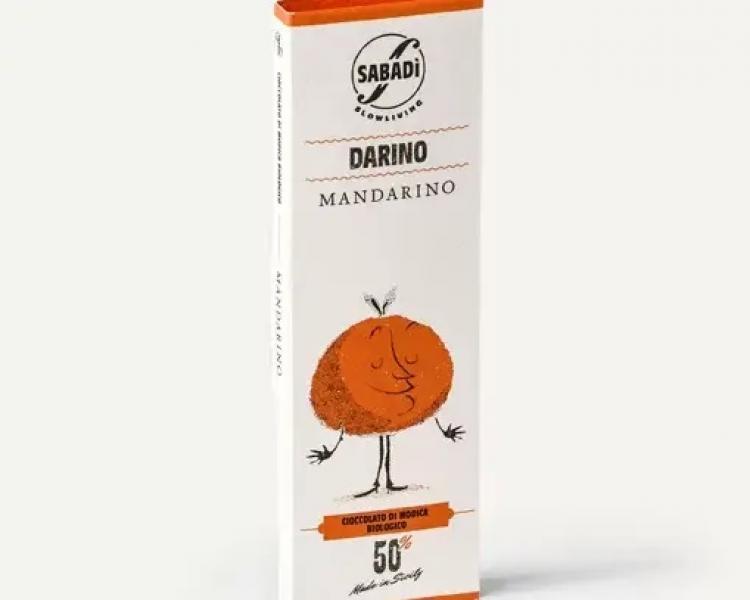 Cioccolato di Modica al mandarino IGP biologico – DARINO –