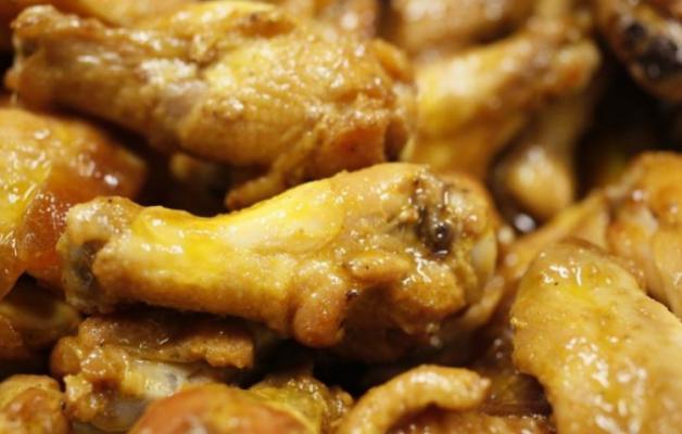 37. Alitas de pollo fritas