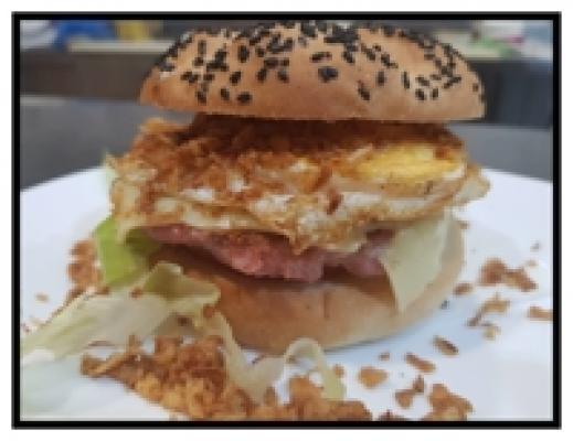 Burger crujiente