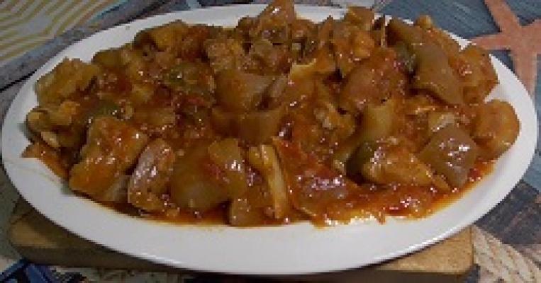 Morro de cerdo en salsa