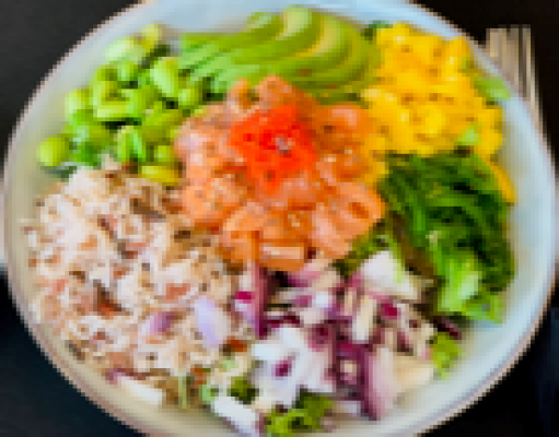 Pokebowl salmon