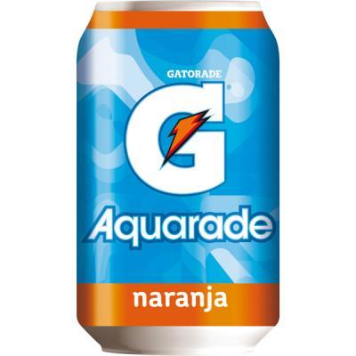 Aquarade naranja Lata