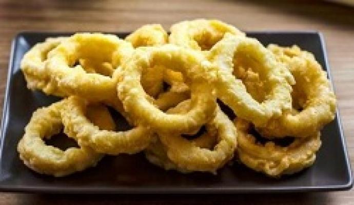 anillas de calamar rebozadas(pota)