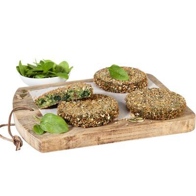 224. crujiburguer de kale y quinoa