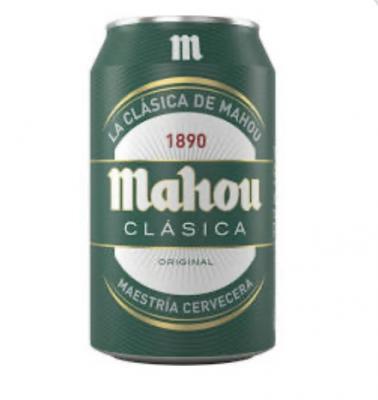 Lata Cerveza Mahou