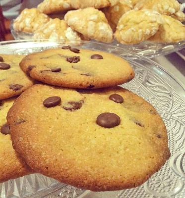 Bolsa de cookies artesanas